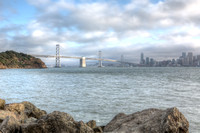 San Francisco Bay Bridge from Treasure Island